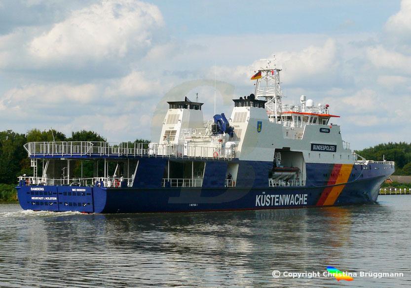 Einsatzschiff Bundespolizei BAMBERG BP 82