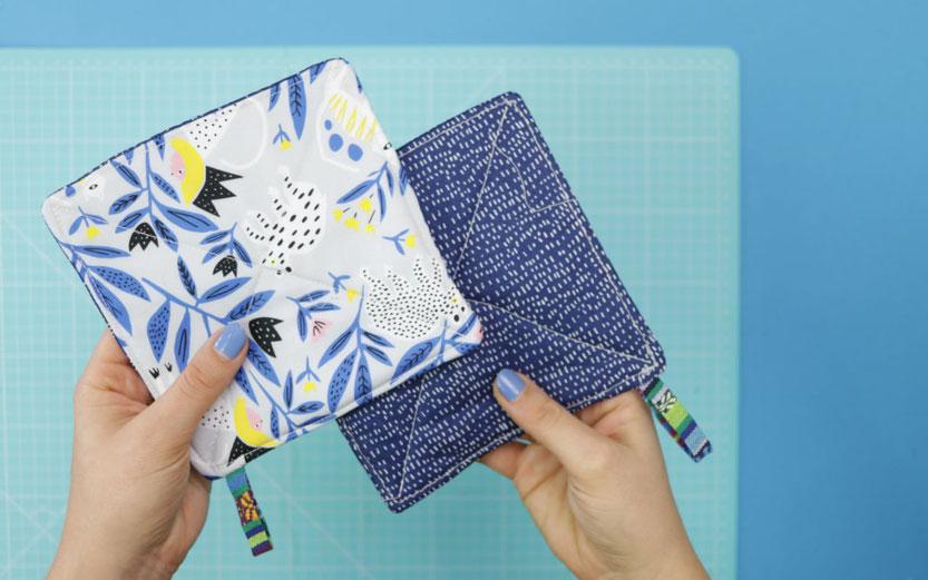 10 DIY Ideen aus Stoffresten – DIY Eule: einfache Topflappen nähen aus Stoffresten