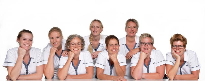 Teamfoto Tandartspraktijk Haulerwijk