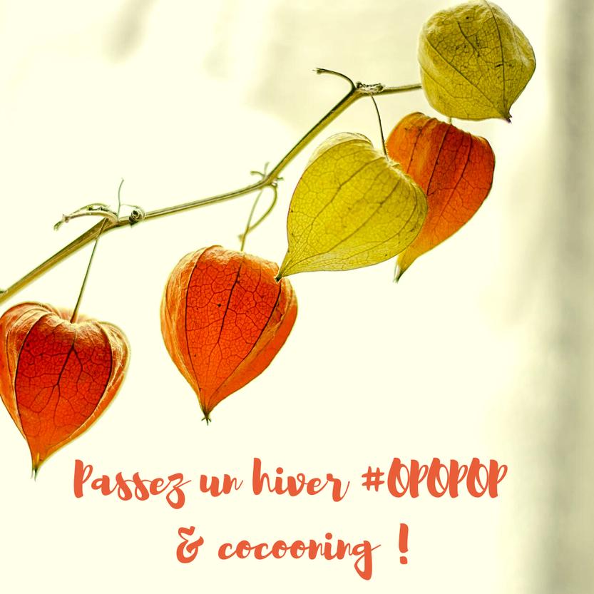 Passez un hiver #OPOPOP & cocooning !