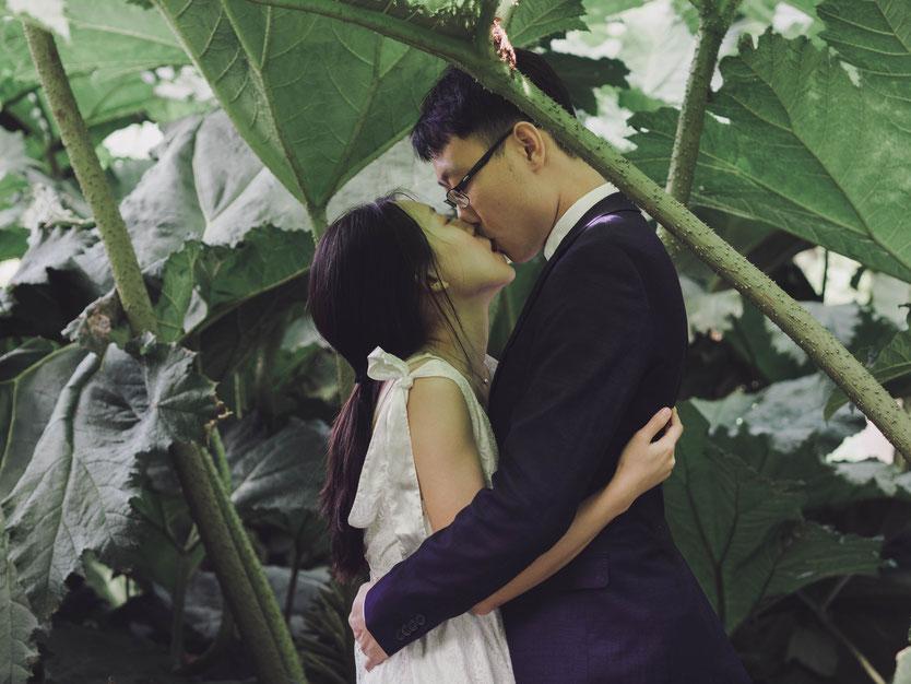 royal botanic garden wedding photography edinburgh