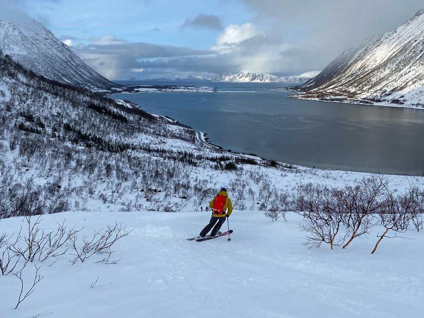 Norwegen Lofoten Skitour Pilan