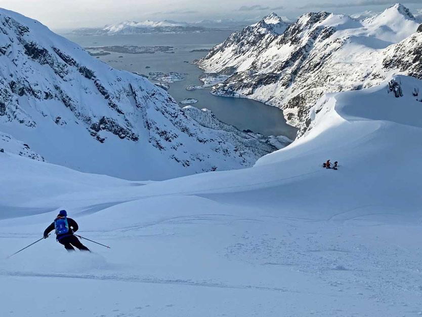 Norwegen, Lofoten, Viktinden