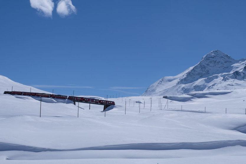 Berninabahn Bernina Express St. Moritz - Tirano