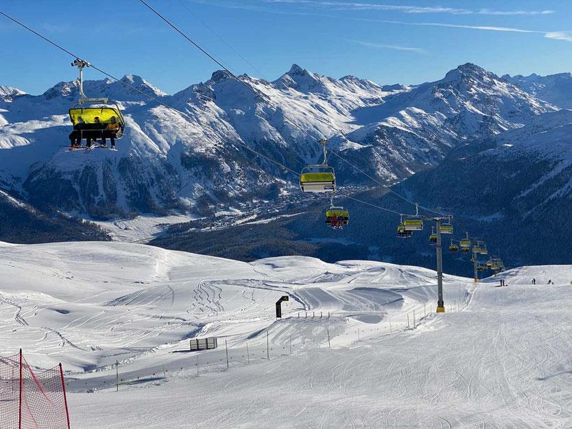 Corviglia St. Moritz Engadin