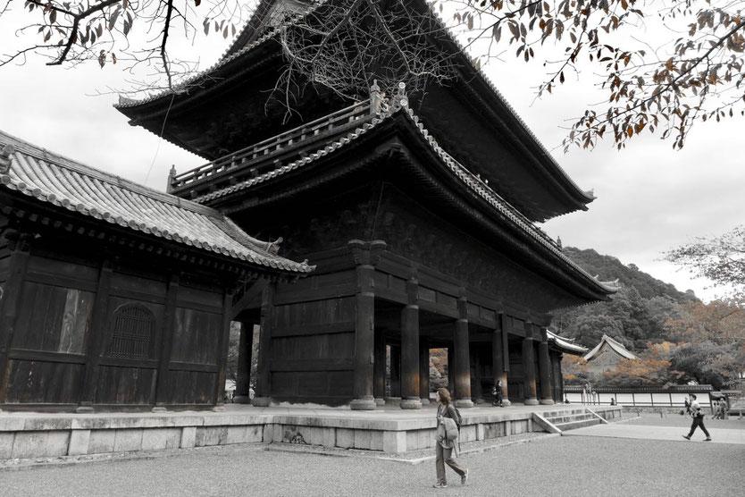 Reise Tipp Tempel in Kyoto schönste Tempel Nanzen-ji Philosophenweg