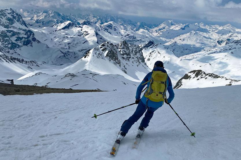 Piz Surgonda, Engadin Skitour