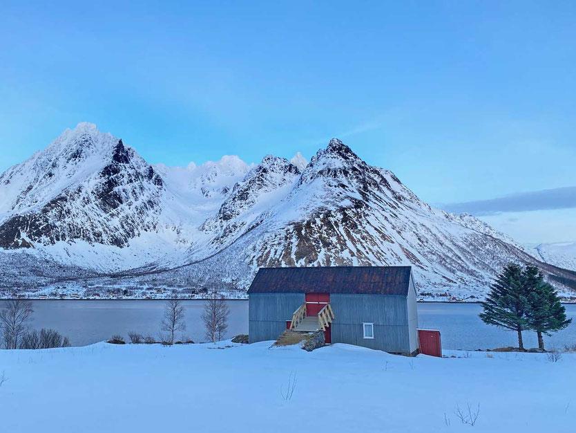 Norwegen, Lofoten, Higravstinden