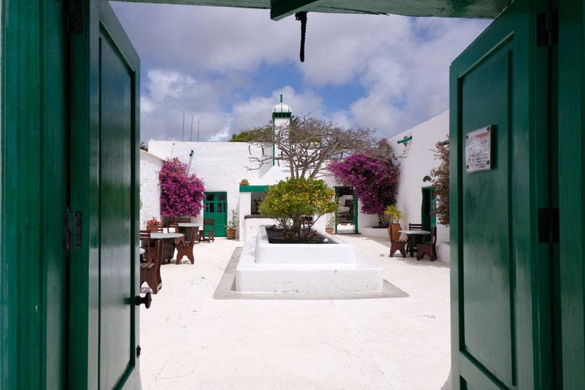 Von Manrique restauriertes Landhaus Restaurant La Era in Yaiza Lanzarote