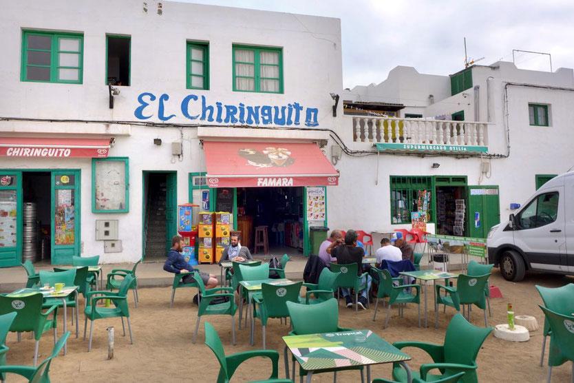 Küstennest Caleta de Famara Restaurant Bar Chiringuito Lanzarote