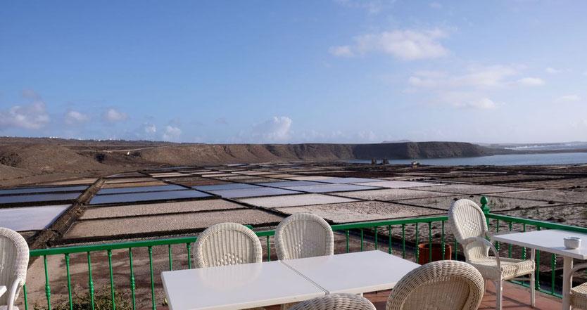 Panorama Terrasse Restaurant Mirador Salinas de Janubio Lanzarote