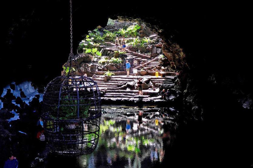 Jameos del Agua Landschaftskunst von César Manrique Lanzarote