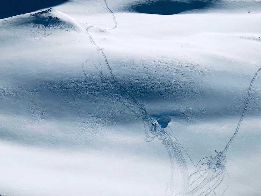 Haute Route - Cheilon Gletscher