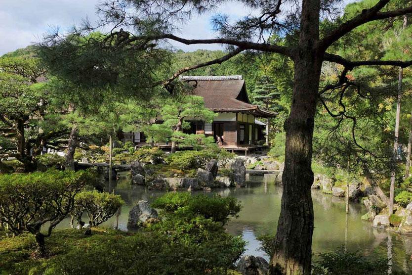 Kyotos best temples Silberner Pavillon Kyoto Silver Pavillon Ginkaku-ji-Tempel