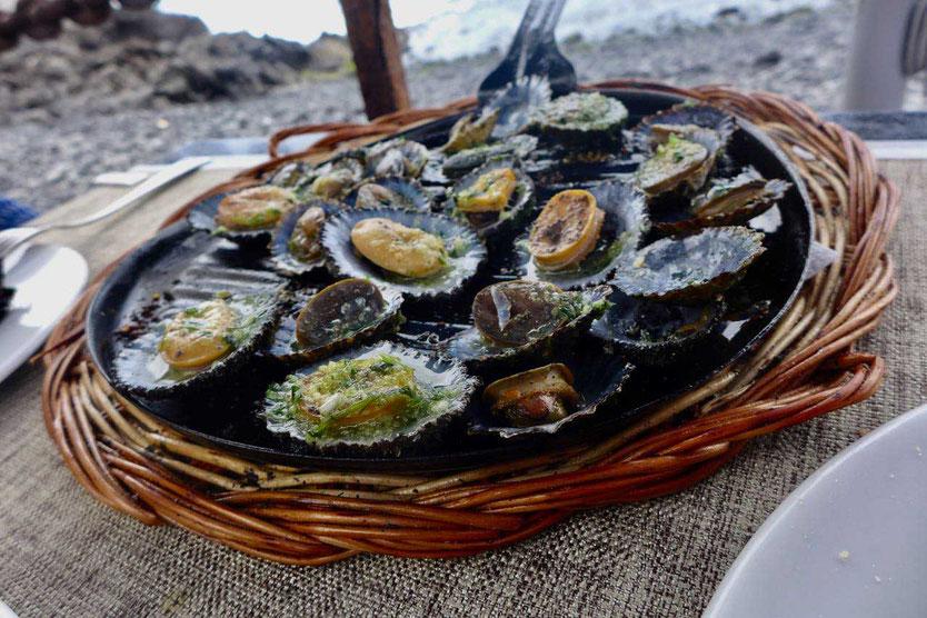 Lapas Napfschnecken Fischrestaurants In El Golfo Lanazote