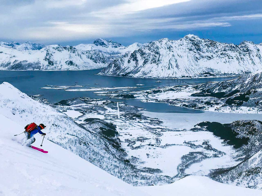 Lofoten Skitouren Stortinden