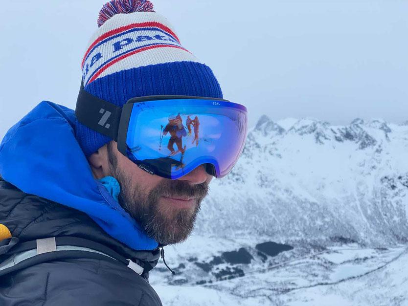 Norwegen Lofoten Bergführer Seth Hobby