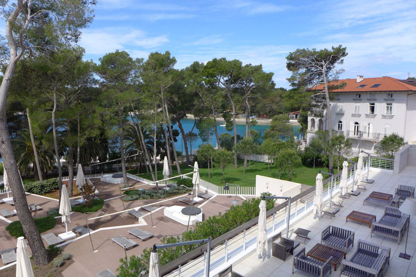 Hotel Bellevue Losinj Kroatien Luxushotel direkt am Meer