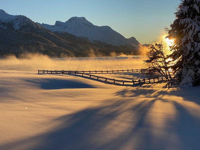 St Moritz Silvaplana See