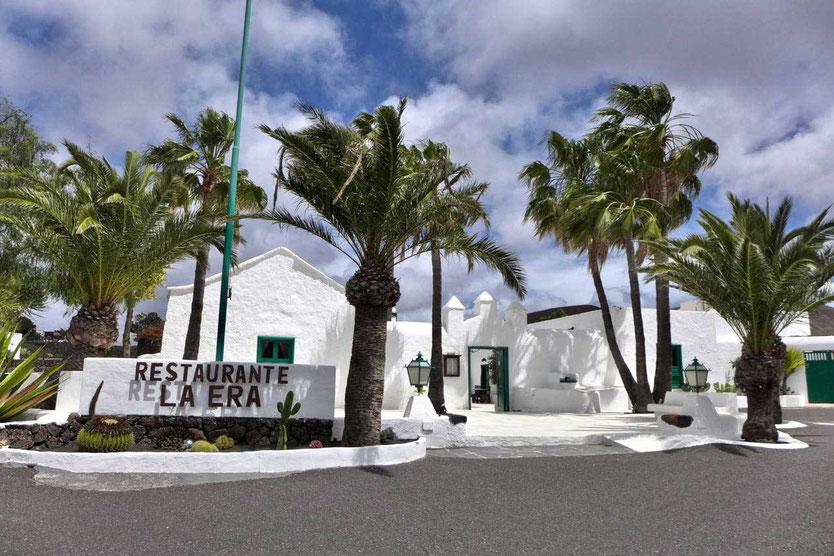 Von Manrique restauriertes Restaurant La Era in Yaiza Lanzarote