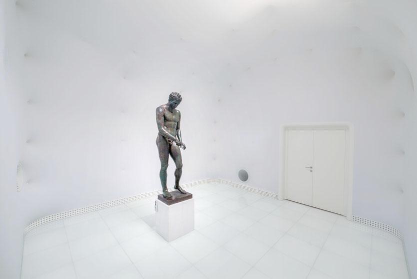 kroatischer Apoxyomenos Mali Losinj im White Room Muzej Apoksiomena