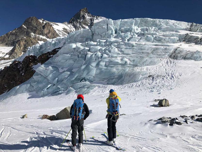 Eisbruch am Matterhorn