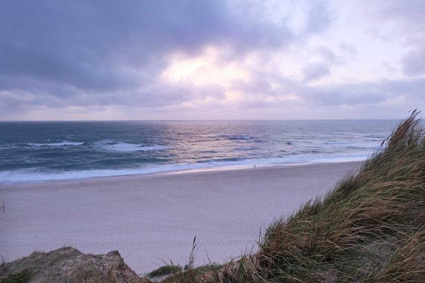 Kampen Strand Rotes Kliff Sylt Reiseblog Edeltrips