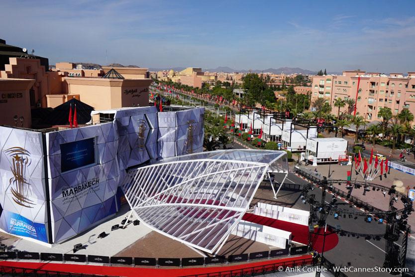 Le Palais des congrès - Festival de  Marrakech - Décembre 2016 - Photo © Anik Couble