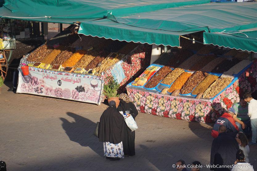 La place Jemaa El Fna et son ambiance - Festival de Marrakech - Décembre 2016 - Photo © Anik Couble