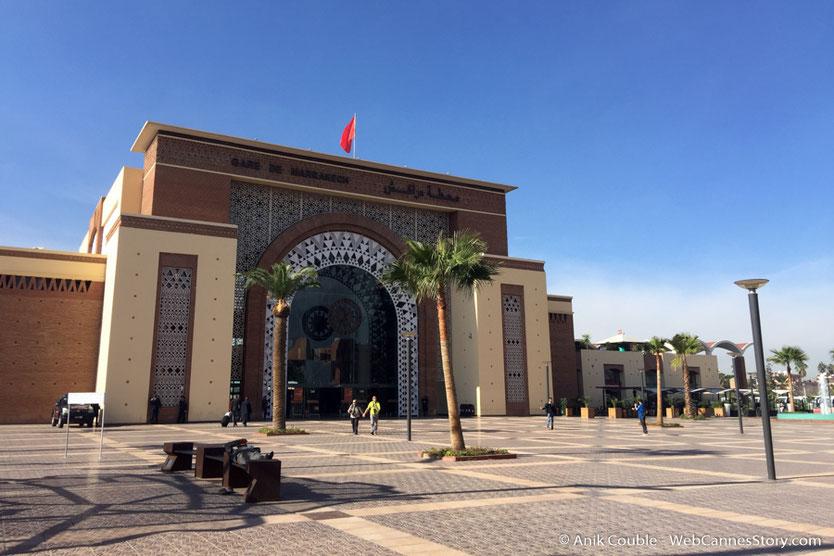 La gare de  Marrakech - Festival de Marrakech - Décembre 2016 - Photo © Anik Couble