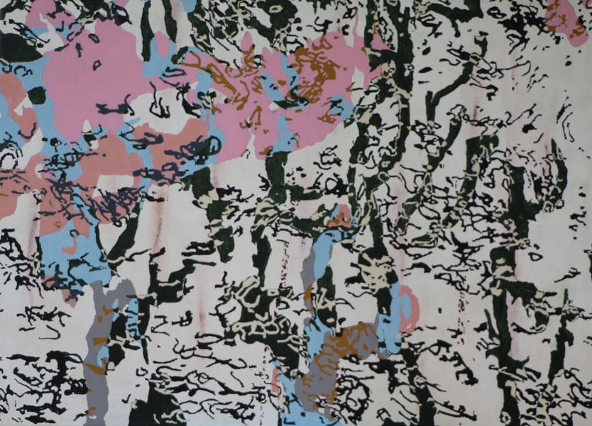 Acryfarbel auf Leinwand (2013)  135 cm x 100 cm