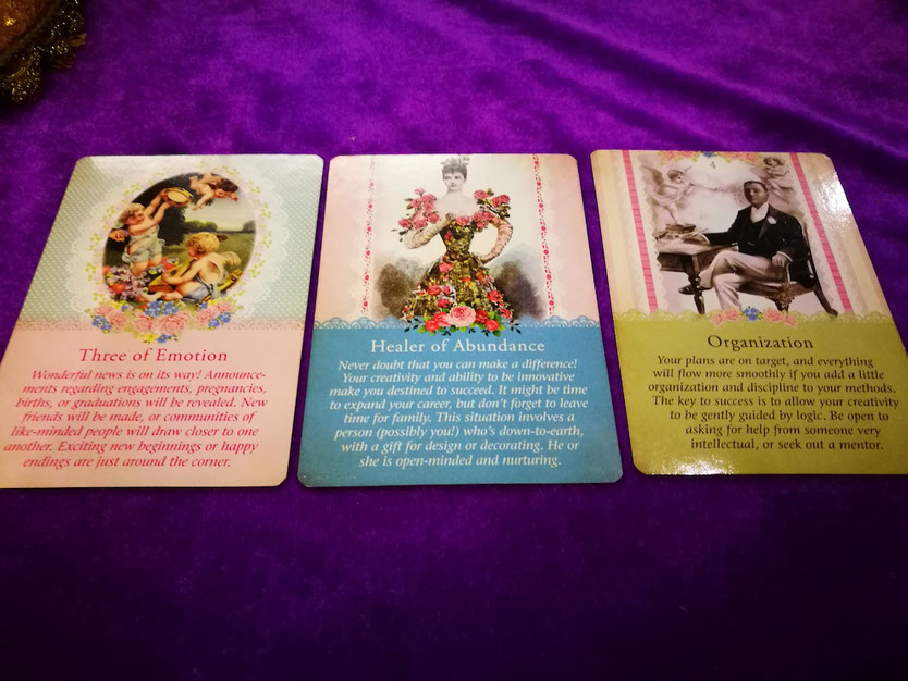 blessings and love from an illuminating angel card reading - Love Card Reading