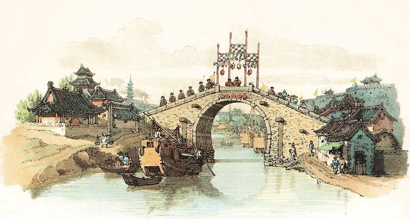 Pont des environs de Sou-Tcheou