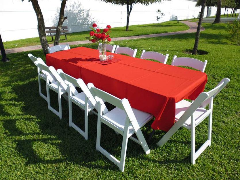 Renta de sillas y mesas en Santiago, Nuevo Leon, Carretera nacional, Lylasrosas, Eventos, Santiago, Nuevo Leon.
