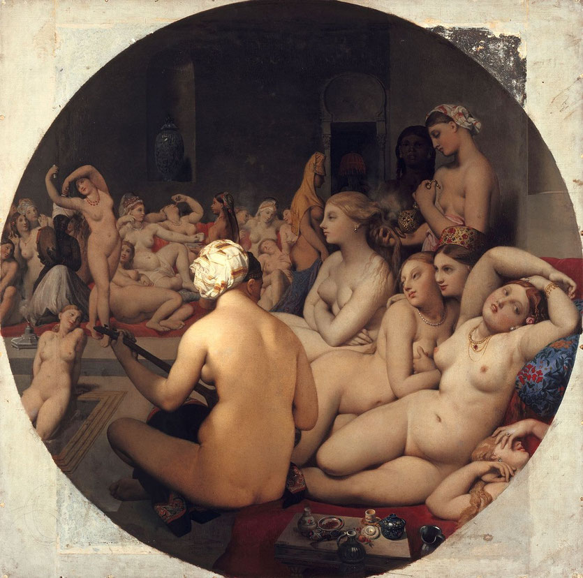 jean-dominique ingres le bain turc