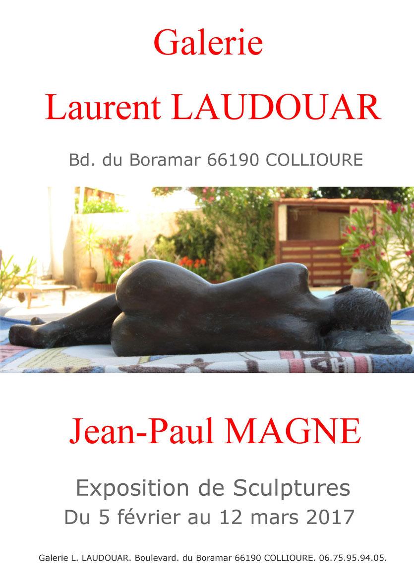 sculpture argile femme nu exposition collioure
