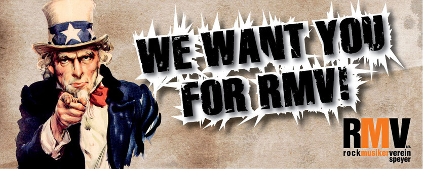 We Want You For RMV