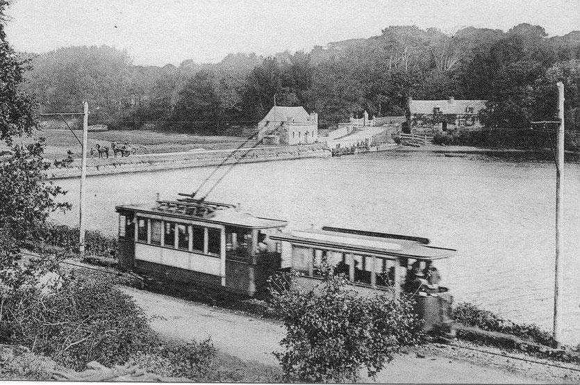 Le tramway de St Pierre Quilbignon–Le Conquet mis en service en 1903 a contribué au développement du port
