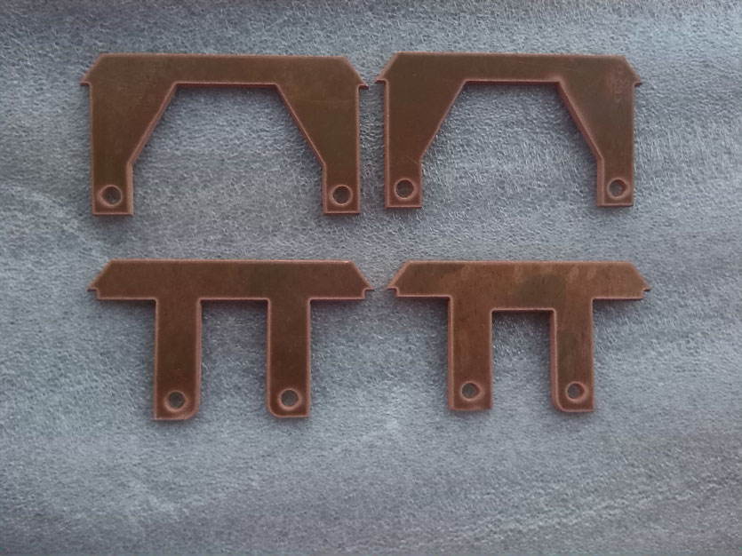 3mm thick copper laser cutting