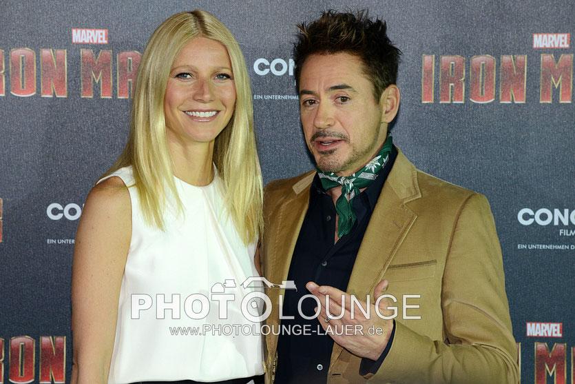 Robert Downey Jr. & Gwyneth Paltrow