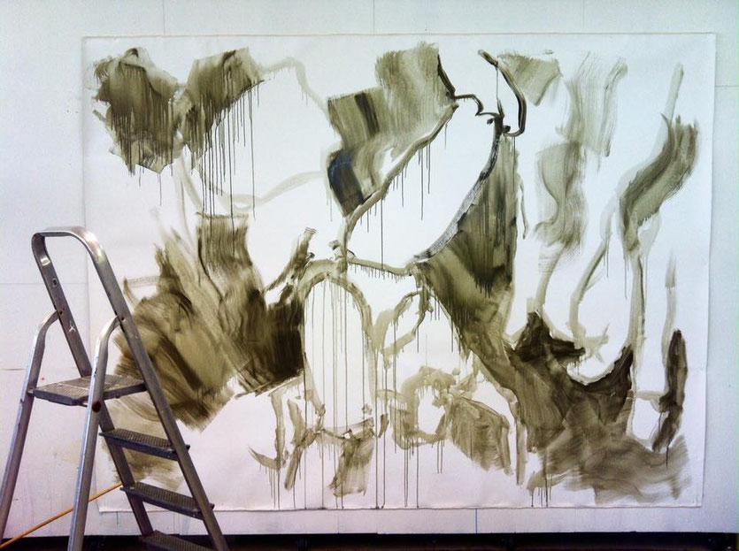 work in progress by Zoë MacTaggart