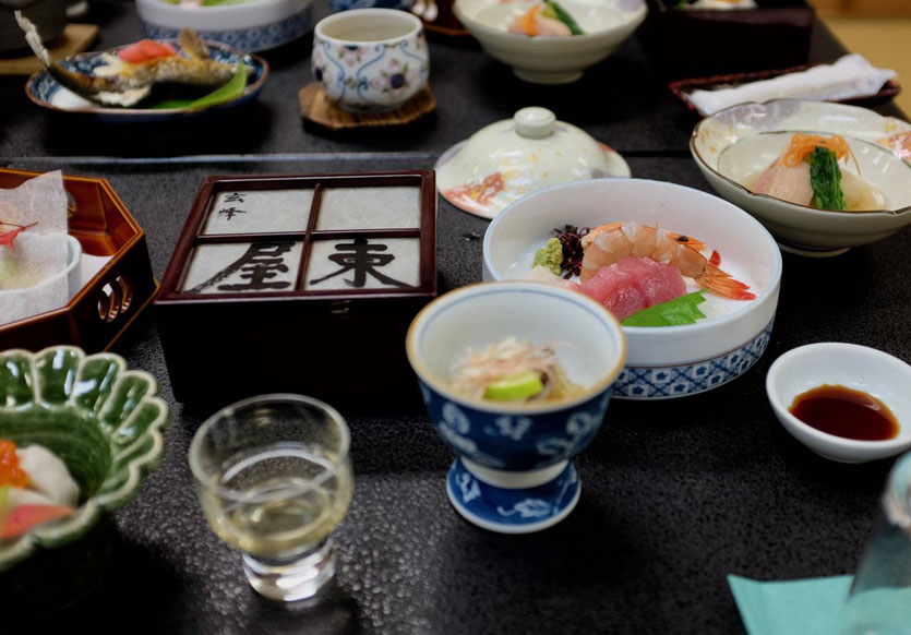 beste tipp Küche Kaiseki Menu Yunomine Ryokan Wakayama Kumano Kudo Japan