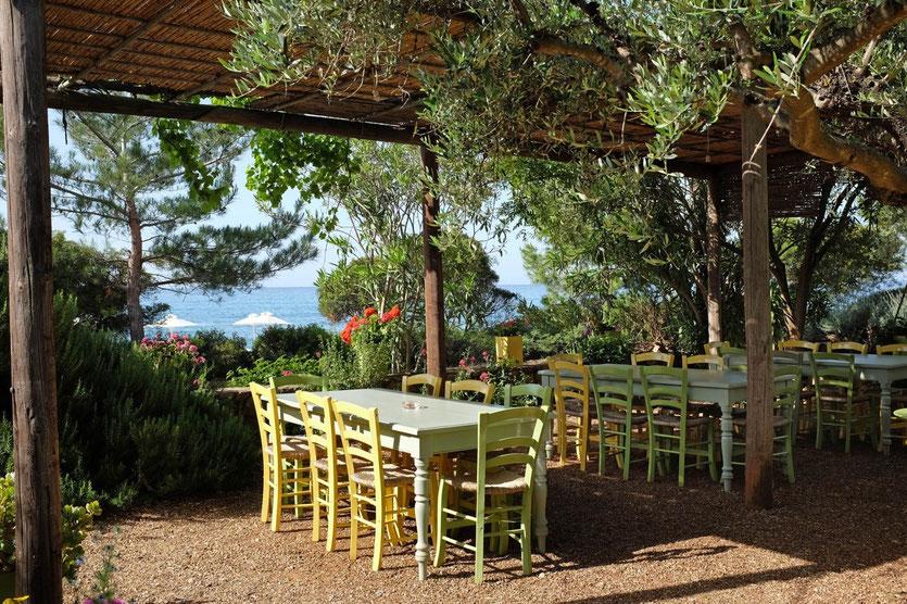 Hotel Elies Kardamili restaurant tipp, Mani Peloponnes