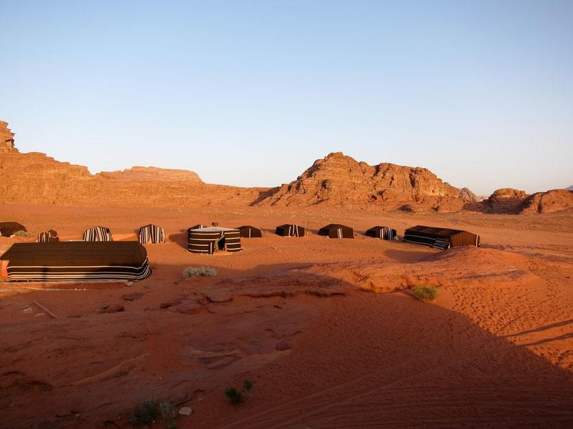 Camp Bedouin Directions, Wadi Rum Jordanien