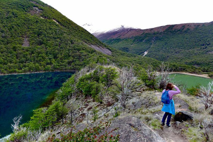 Laguna Verde und Azul Wanderung El Chalten