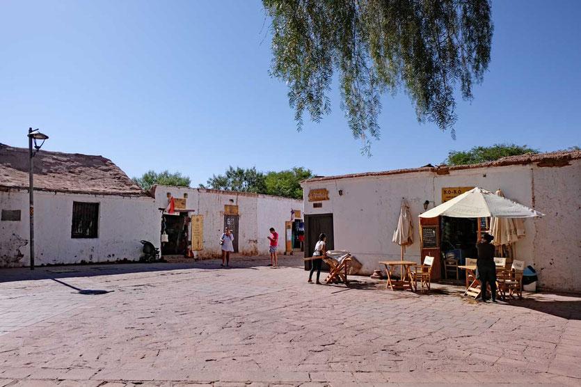 Plaza von San Pedro de Atacama