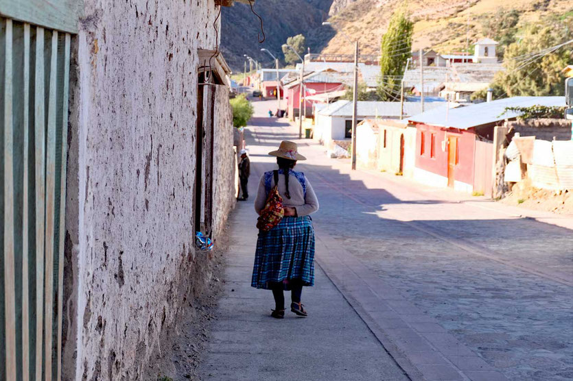 Dorf Putre Chile Altiplano