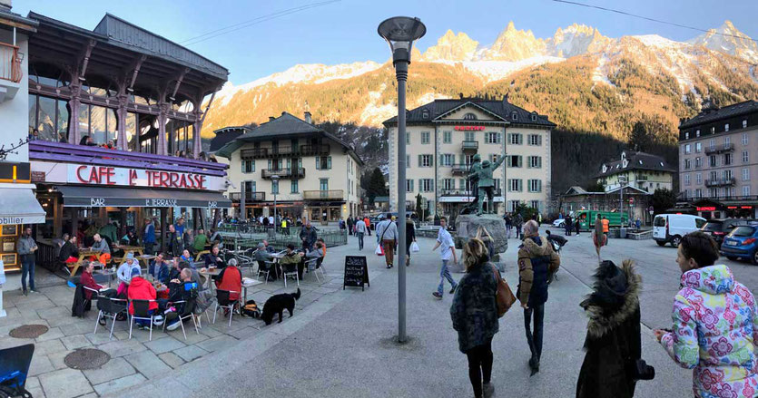 Fußgängerzone Chamonix
