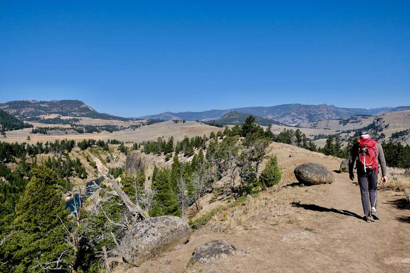 Yellowstone River Picnic Area Trail