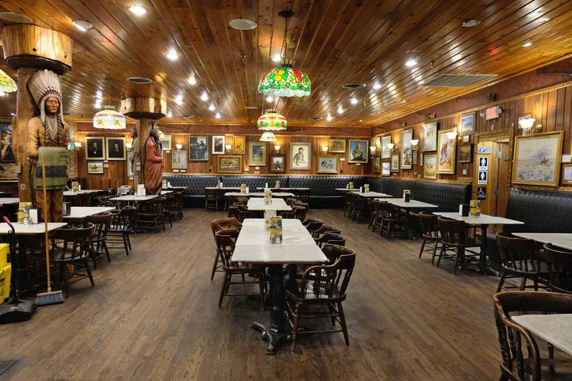 Alte Dining room Nostalgie im Wall Drug Store